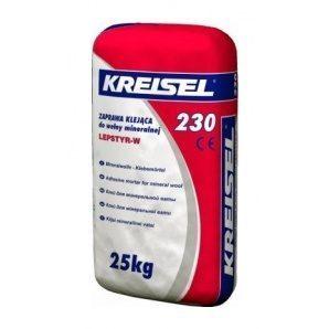 Клей KREISEL Mineralwolle-Klebemortel 230 25 кг