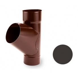 Трійник універсальний Galeco STAL 135/90 87х275 мм темно-коричневий