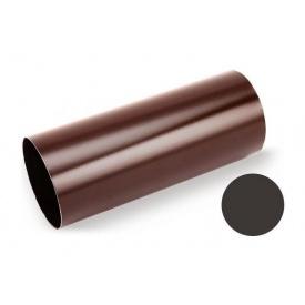 Водостічна труба Galeco STAL 135/90 87х1000 мм темно-коричневий