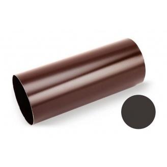 Водосточная труба Galeco STAL 135/90 87х1000 мм темно-коричневый