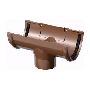 Воронка желоба ТехноНИКОЛЬ 125/82 мм коричневый