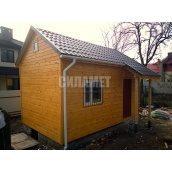 Будівництво лофт будиночка дерев'яного каркасного