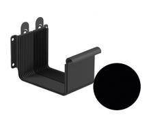 Соединитель желоба Galeco STAL 2 125/80 125 мм черный
