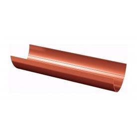 Ринва водостічна ТехноНІКОЛЬ 125 мм 3 м червоний