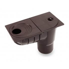 Дощоприймач універсальний Galeco 300х202 мм сірий