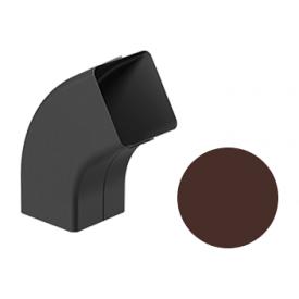 Коліно 72 градуси Galeco STAL 2 125/80 80х80 мм шоколадно-коричневий