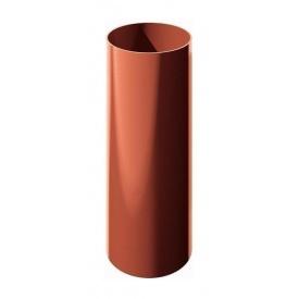 Труба водостічна ТехноНІКОЛЬ 82 мм 3 м червоний