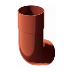 Коліно труби ТехноНІКОЛЬ 135 градусів 82 мм червоний