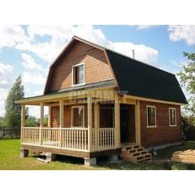 Строительство дома из сруба под ключ