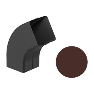 Колено 72 градуса Galeco STAL 2 125/80 80х80 мм шоколадно-коричневый
