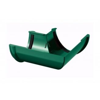 Угол желоба ТехноНИКОЛЬ 90 градусов 125 мм зеленый