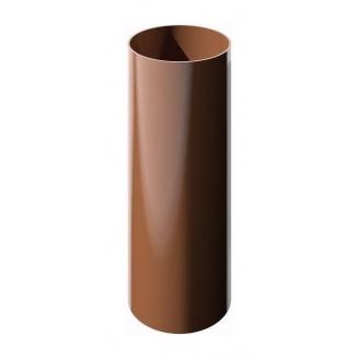 Труба водосточная ТехноНИКОЛЬ 82 мм 3 м коричневый