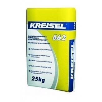 Шпатлевка KREISEL Kalkzement Spachtelmasse 662 25 кг
