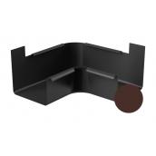 Угол внутренний 90 градусов Galeco STAL 2 125/80 125 мм шоколадно-коричневый
