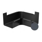 Угол внутренний 90 градусов Galeco STAL 2 125/80 125 мм графитовый