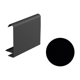 Декоративна планка для софіту Galeco STAL 2 125/80 107х295х2000 мм чорний