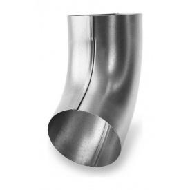 Коліно 60 градусів Galeco LUXOCYNK SO100 100 мм срібний