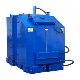 Твердотопливный котел Идмар KW-GSN 200 кВт сталь 191х110х153 см синий