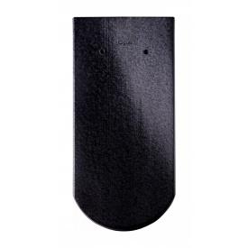 Черепица Braas Опал Глазурь 380х180 мм черный