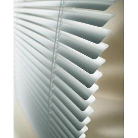 Жалюзі горизонтальні Оміс пластикові білі
