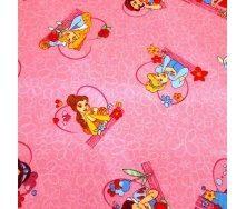 Ковролин AW Princess Tales детский 6,5 мм розовый