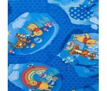 Ковролін AW Winnie woodland дитячий 6,5 мм синій