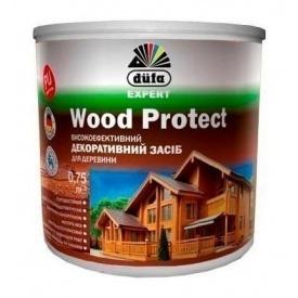 Декоративное средство Dufa Wood Protect 10 л белый