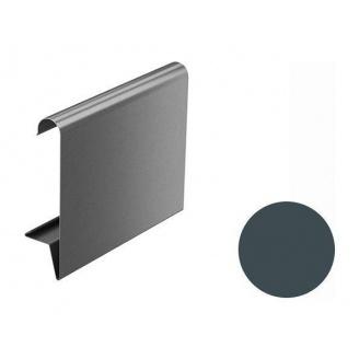 Декоративная планка Galeco BEZOKAPOWY 125/80 125х2000 мм графитовый