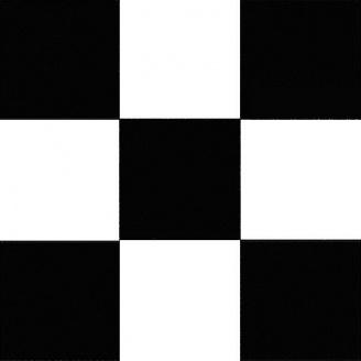 Линолеум Алекс-3 Luxe 085-1 черно-белый