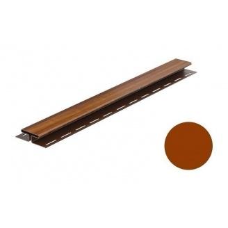 Монтажная планка для софита Galeco DECOR тип H 4000 мм золотой дуб