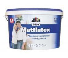 Краска Dufa Mattlatex D100 5 л белый