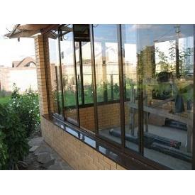 Установка алюмінієвих розсувних систем для терас і балконів
