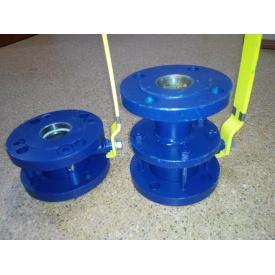 Кран шаровой фланцевый стальной КЗШС 11с42п Ду100/100