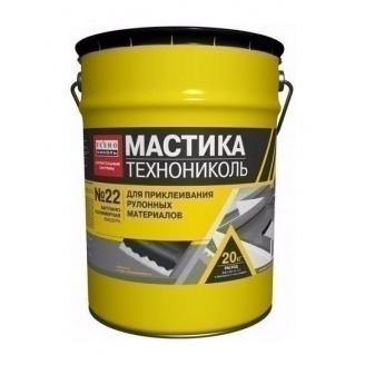 Мастика приклеивающая ТехноНИКОЛЬ №22 Вишера УКР 20 кг