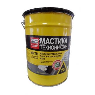 Мастика ТехноНИКОЛЬ МКТН битумно-полимерная РБ 20 кг