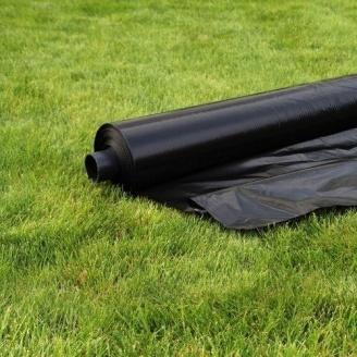 Пленка стабилизированная полотно 150 мкм 6 м черная
