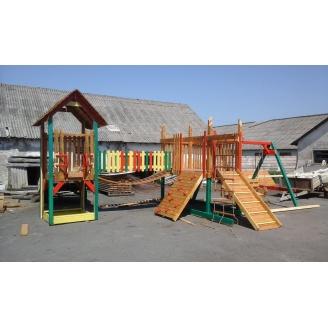 Детска площадка ВЕСЕЛКА из дерева