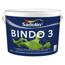 Краска для стен Sadolin Bindo 3 5 л белая