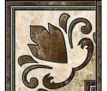Декор Inter Cerama EMPERADOR 13,7x13,7 см коричневий