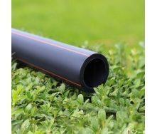 Труба Планета Пластик SDR 17,6 поліетиленова для газопостачання 9,1х160 мм