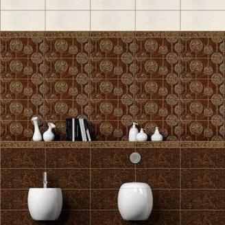 Бордюр Inter Cerama NOBILIS 7x50 см коричневий