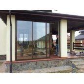 Розсувне вікно для тераси з профілю