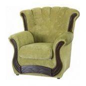 Кресло Мебель-Сервис Европа 1100х1100х1100 мм Кордрой зеленый