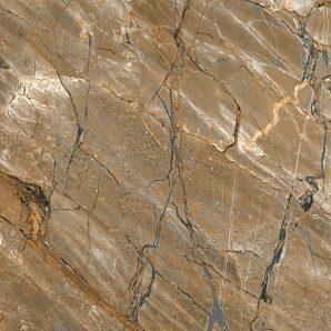 Керамическая плитка Inter Cerama CAESAR для пола 43x43 см коричневый темный