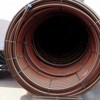 Труба Планета Пластик SDR 17,6 поліетиленова для газопостачання 140х8 мм