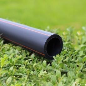 Труба Планета Пластик SDR 11 полиэтиленовая для газоснабжения 75х6,8 мм