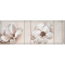 Декор Inter Cerama BINGO 15x40 см білий (Д 125 061-2)