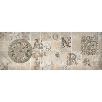 Декор Inter Cerama ANTICA 15x40 см сірий (Д 128 072-3)