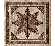 Декор Inter Cerama MASSIMA 15x15 см коричневий