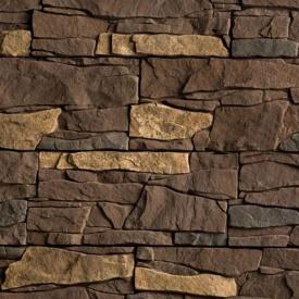 Плитка бетонная Einhorn под декоративный камень Альпийская скала 40 145x320x40 мм